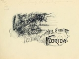 Cover of Features of the hill country, Florida