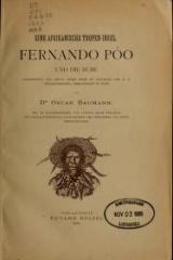 Cover of Fernando Póo und die Bube