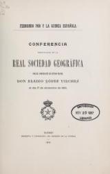 Cover of Fernando Póo y la Guinea Española