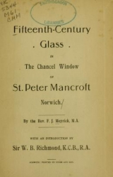 Cover of Fifteenth-century glass in the chancel window of St. Peter Mancroft, Norwich