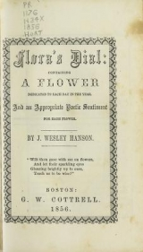 Cover of Flora's dial