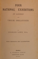 Cover of Four national exhibitions in London and their organiser