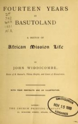 Cover of Fourteen years in Basutoland