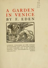 Cover of A garden in Venice