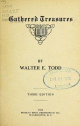 Cover of Gathered treasures