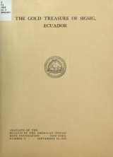 Cover of The gold treasure of Sigsig, Ecuador