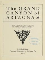Cover of Grand Canyon of Arizona