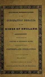 Cover of Graphical representation of the coronation regalia of the kings of England