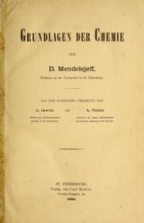 Cover of Grundlagen der Chemie
