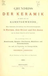 Cover of Grundriss der keramik in bezug auf das kunstgewerbe