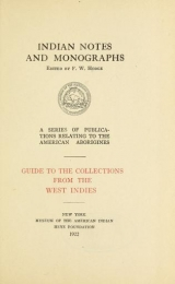 Cover of Guide to the collections from the West Indies