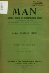 Cover of Haida portrait mask