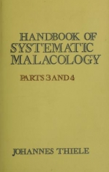 Cover of Handbook of systematic malacology