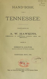 Cover of Hand-book of Tennessee