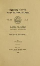 Cover of Hawikuh bonework