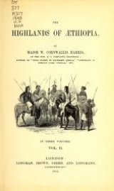 "Cover of ""The highlands of Æthiopia"""