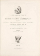 Cover of Historical and statistical information respecting the history, condition, and prospects of the Indian tribes of the United States pt. 2