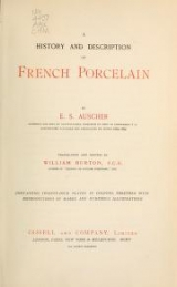 Cover of A history and description of French porcelain