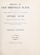 Cover of History of old Sheffield plate