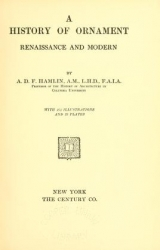 Cover of A history of ornament