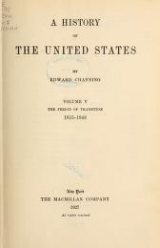 Cover of A history of the United States