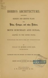 Cover of Hobbs's architecture