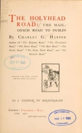 Cover of The Holyhead road