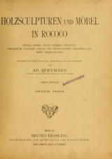 Cover of Holzsculpturen und Möbel in Rococo