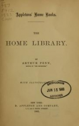 Cover of The home library