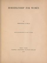 Cover of Horsemanship for women