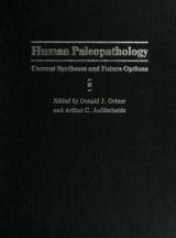 Cover of Human paleopathology