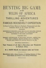 Cover of Hunting big game in the wilds of Africa