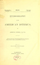 Cover of Hydrography of the American Isthmus