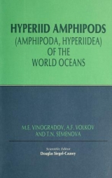 Cover of Hyperiid amphipods (Amphipoda, Hyperiidea) of the world oceans