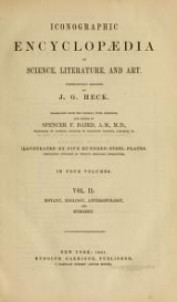 Cover of Iconographic encyclopaedia of science, literature, and art