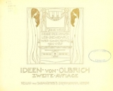 Cover of Ideen von Olbrich