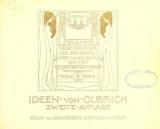 Cover of Ideen von Olbrich