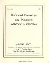 Cover of Illuminated manuscripts and miniatures, european & oriental.