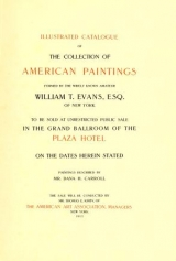 Cover of Illustrated catalogue of the collection of American paintings