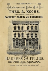 Cover of Illustrated catalogue and price list