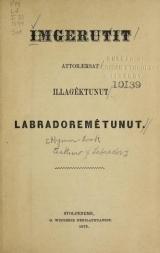 Cover of Imgerutit attoræksat illagêktunut Labradoremêtunut