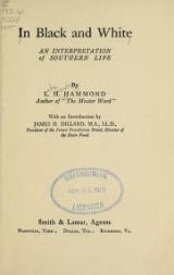 Cover of In black and white
