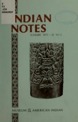 "Cover of ""Indian notes"""