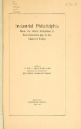 Cover of Industrial Philadelphia