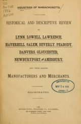 Cover of Industries of Massachusettes