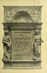 Cover of The Inland architect and news record v. 24 Aug 1894-Jan 1895