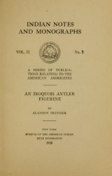 Cover of An Iroquois antler figurine