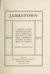 Cover of Jamestown 1607-1907