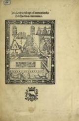 Cover of Jo. Archiepiscopi Cantuariensis Perspectiua communis
