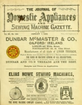 Cover of Journal of domestic appliances
